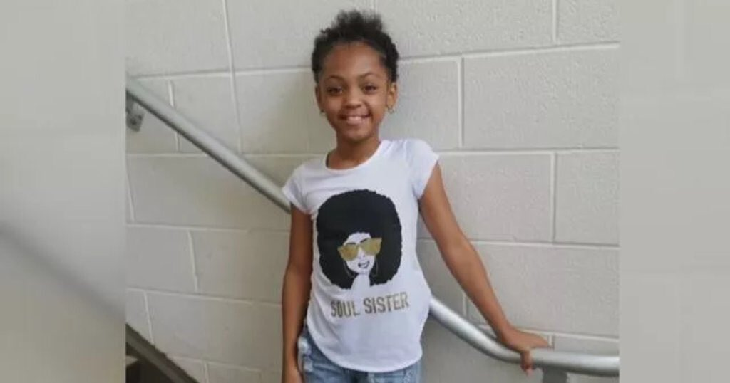 RT @MichaelSkolnik SHE HAS A NAME: 9 year old Saniyah Nicholson was shot and killed by a stray bullet while sitting in a car in Cleveland. May she rest in peace.