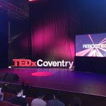 Image for the Tweet beginning: Excited to be @tedxcoventry looking