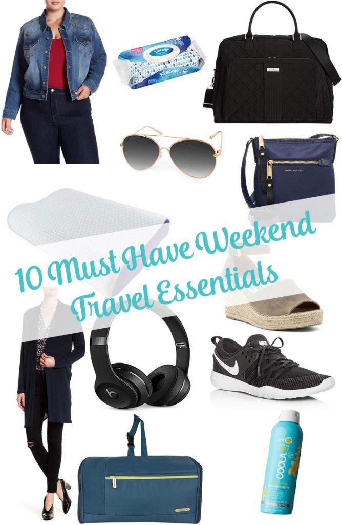 6 Summer Weekend Travel Essentials
