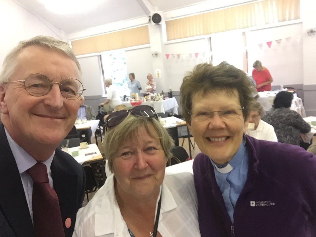 Enjoyed being at the St Marys, Beeston Strawberry Fair this morning with the Rev Lindsey Pearson. Very good display on local history in the church. @moreincommonB_S #GreatGetTogether