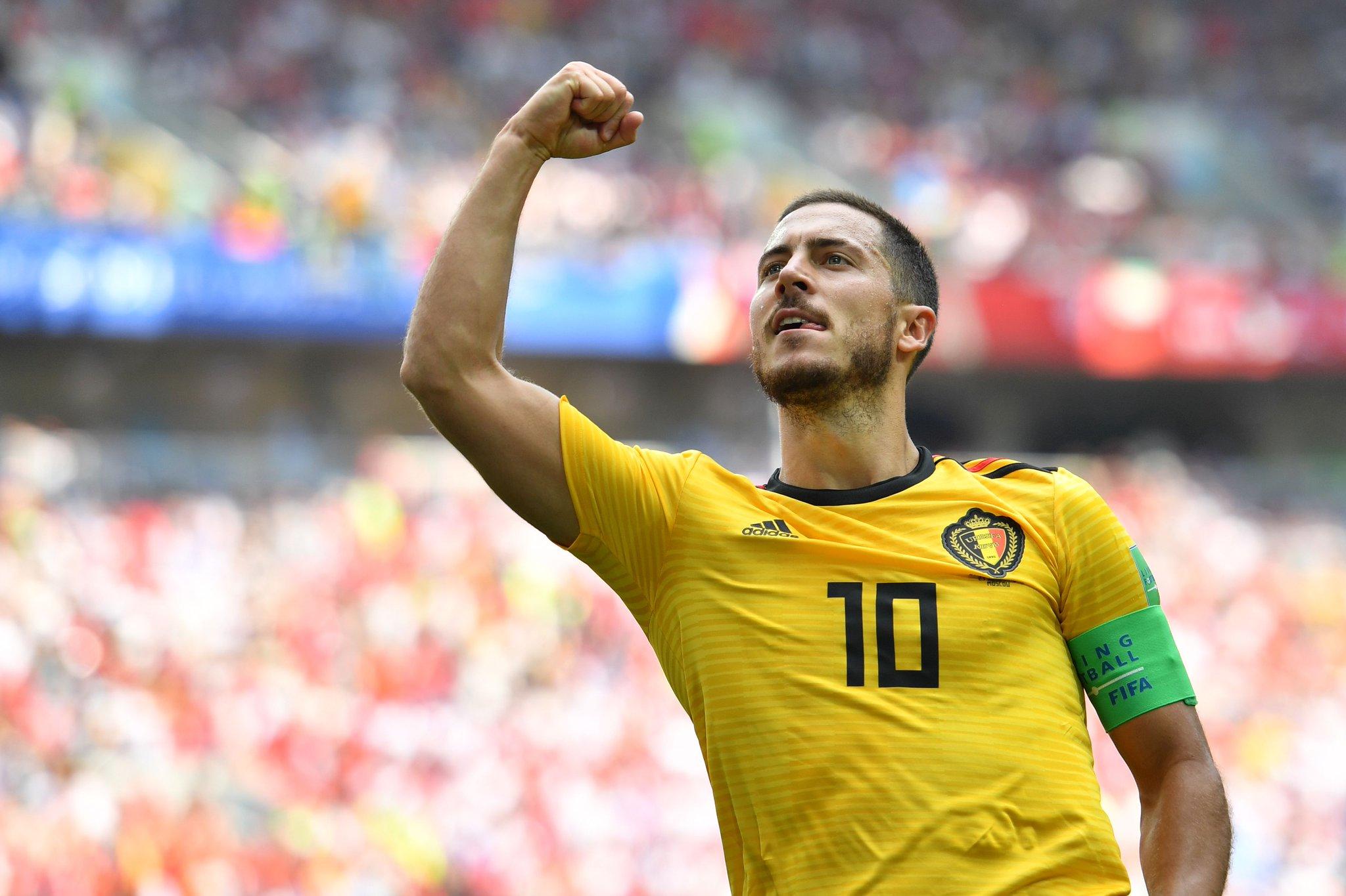 هدف بلجيكا الرابع في مرمى تونس