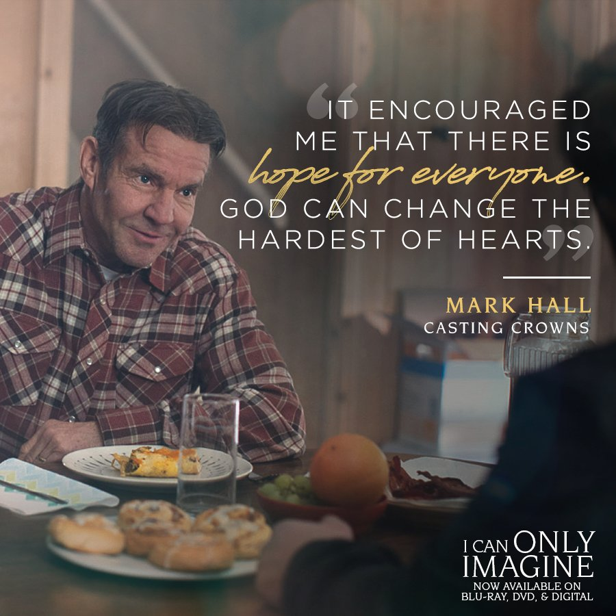No one you see today is beyond hope! #ICanOnlyImagine is available now on Blu-ray, DVD, and Digital! https://t.co/pyDff0ZlNn https://t.co/nQuPBwSSsG