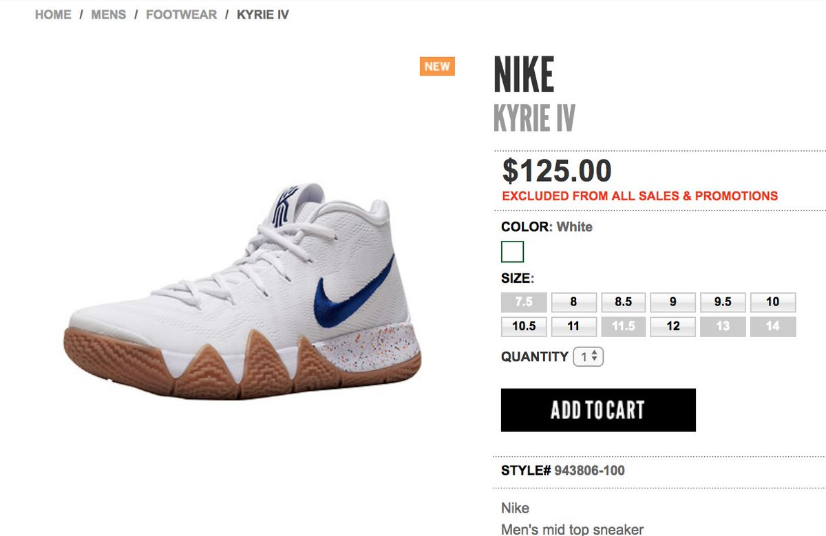 70e129eb4bfd ... promo code for sole links on twitter live via jimmy jazz nike kyrie 4  uncle drew