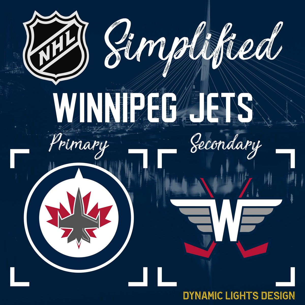 I started with the  NHLJets my home team. b6f26842d