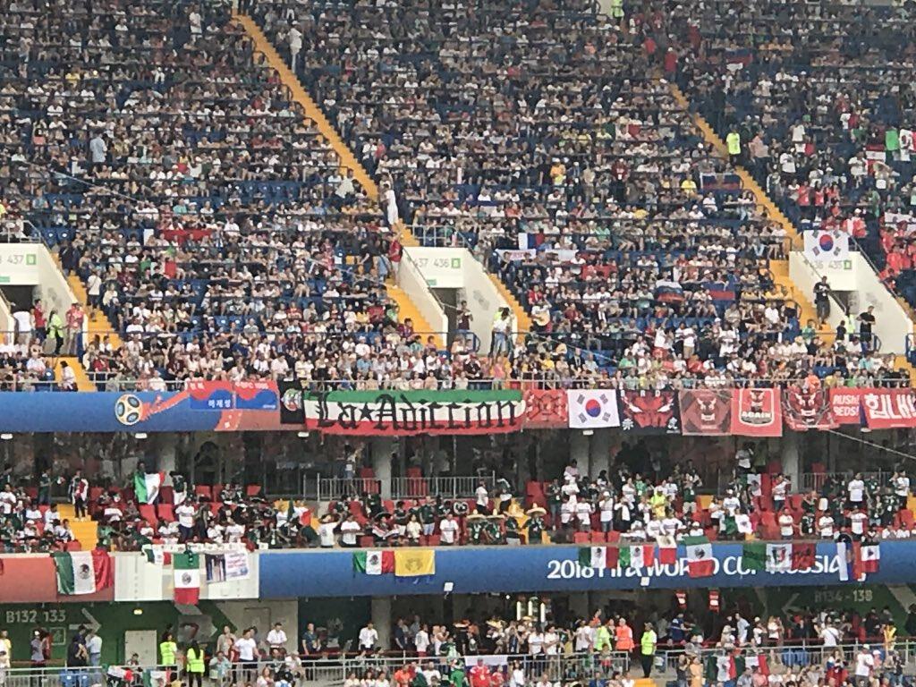 México imparable gano 2-1 ante Corea del Sur