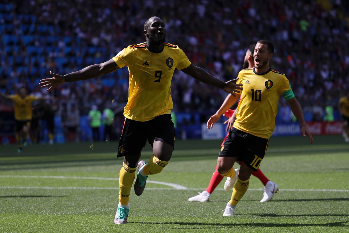 🇧🇪 Romelu Lukaku is now Belgiums all-time top scorer in major tournaments with seven goals. 🔥🔥🔥 And hes still only 25 ...