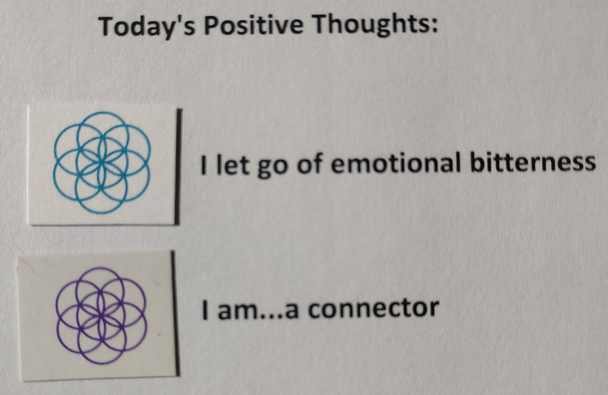 test Twitter Media - Today's Positive Thoughts: I let go of emotional bitterness and I am...a connector #affirmation https://t.co/a2N00xVomE