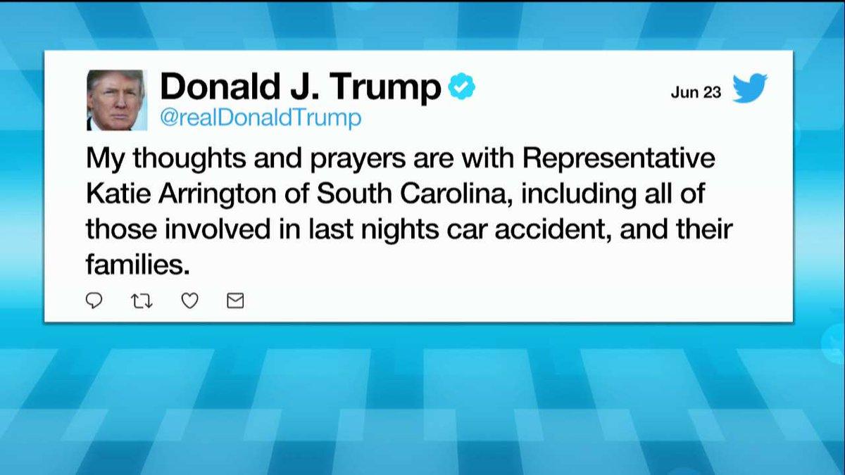 Moments ago, President @realDonaldTrump tweeted about Katie Arrington. fxn.ws/2MS92g1