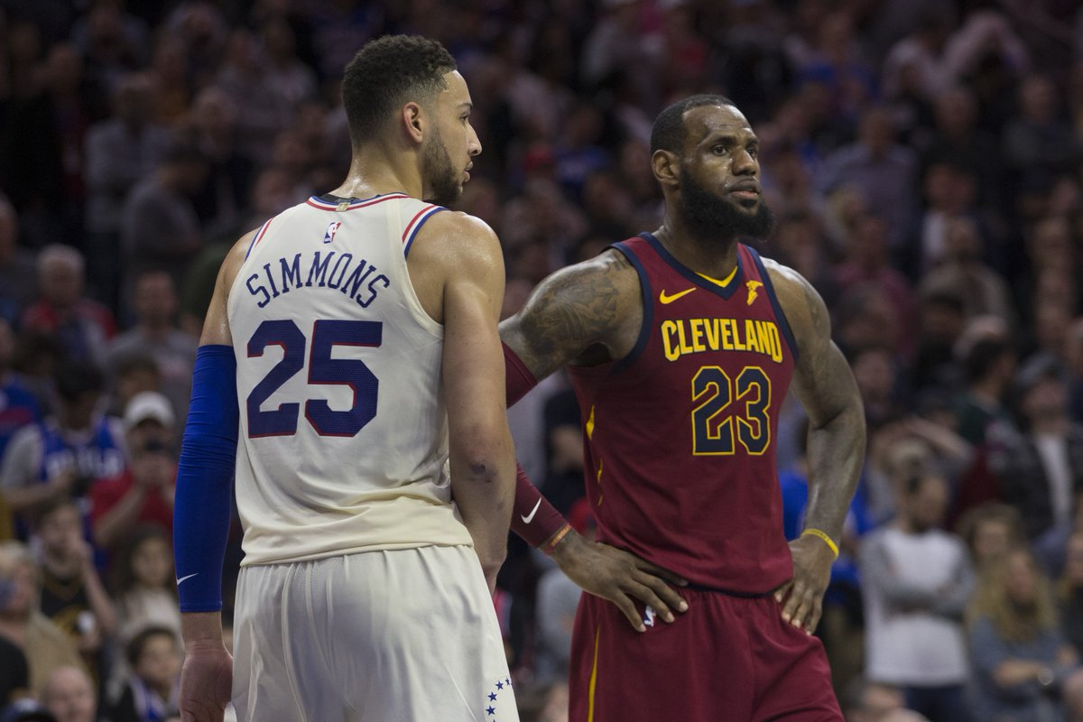 "Sixers are doing ""everything they can"" to clear cap space to try to sign LeBron to a max contract, per @njdotcom ble.ac/2KdUV6t"