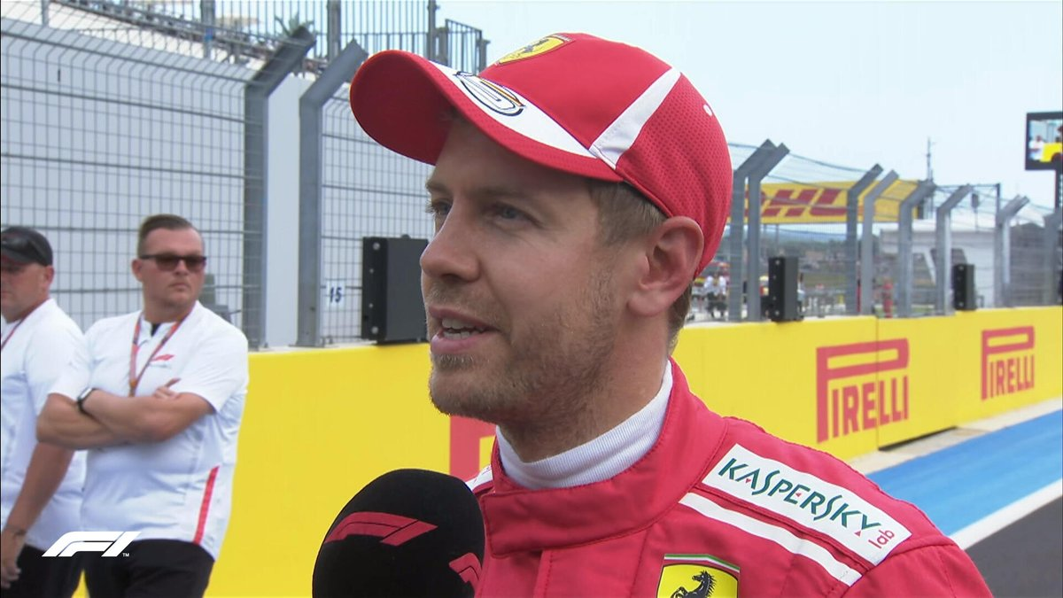 Formula 1's photo on Vettel