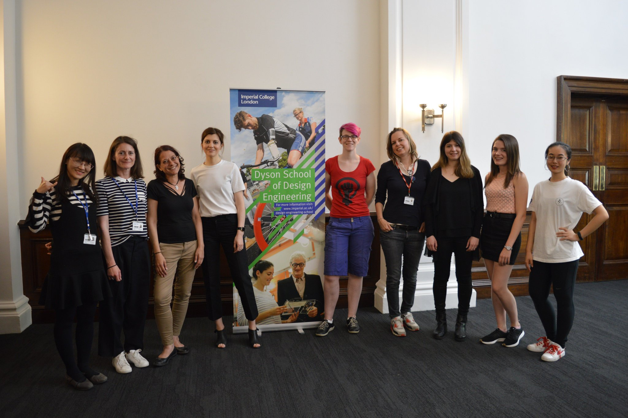 Dyson School Of Design Engineering On Twitter It S International Women In Engineering Day A Few Of Our Academic Staff And Researchers Celebrated In Our New Building On Friday Inwed1919 Inwed18 Raisingthebar Https T Co E9q5xa9ymy