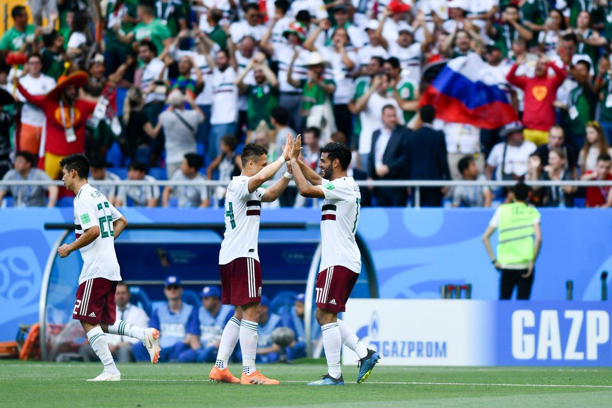 Repetición del partido completo México vs Corea