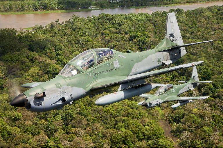 Super Tucano em teste pela Força Aérea dos EUA sofre acidente https://t.co/1aIq9BWRRz
