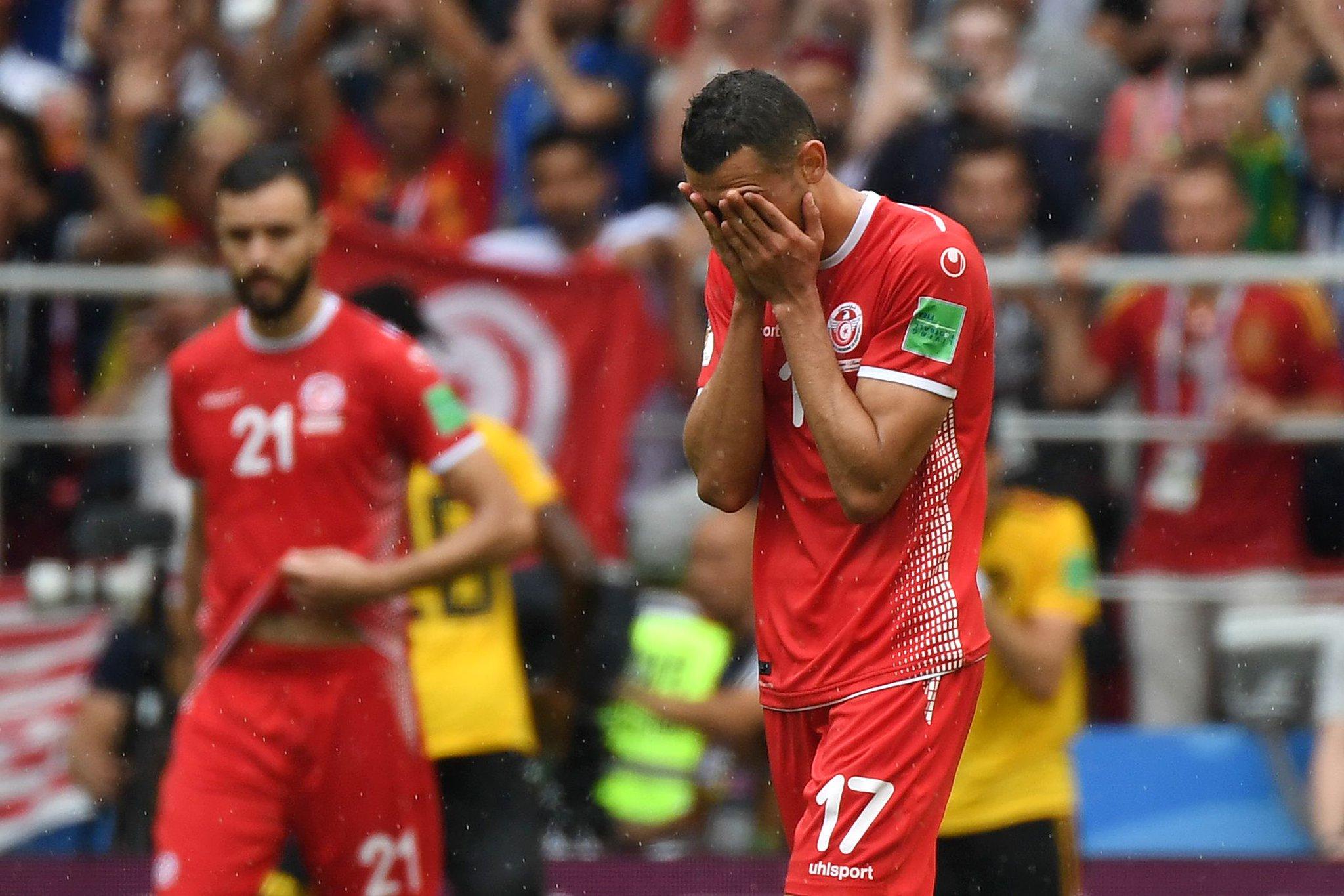 أهداف مباراة تونس وبلجيكا كاملة