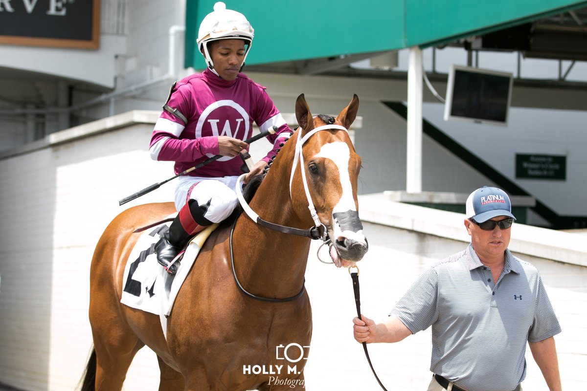 Bano Solo(Goldencents) won the 5th race today @RSantana_Jr up, Asmussen trained. He was a March &#39;18 @OcalaBreeders purchase<br>http://pic.twitter.com/6i1aSzznba