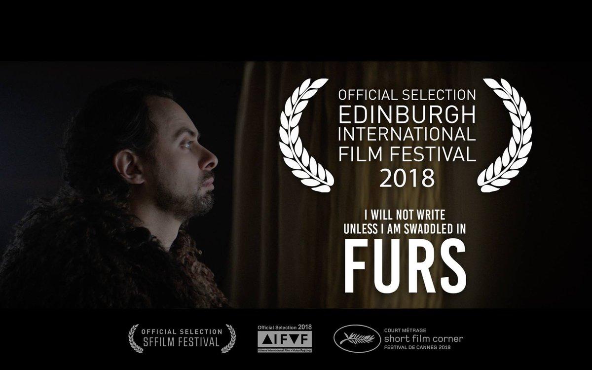 #shortfilm #edfilmfest Dressed for Pleasure | Ode to Joy | Time Traveller |  I Will Not Write Unless I Am Swaddled in Furs | Kiem Holijanda | Pop Rox ...