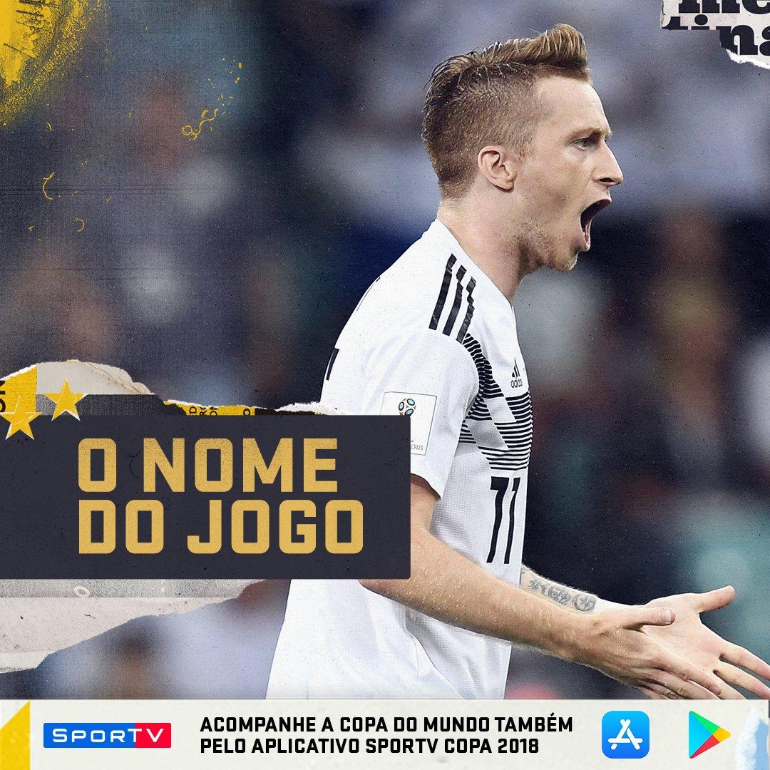 Jogou muito, simples assim! Marco Reus, O CARA DO JOGO! #SouSporTVnaCopa  Acompanhe tudo sobre a Copa do Mundo no aplicativo do SporTV! Android: https://t.co/pM3IzWAgDi  IOS: https://t.co/zO8wCn0Vby