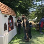 Image for the Tweet beginning: Cool little libraries all around