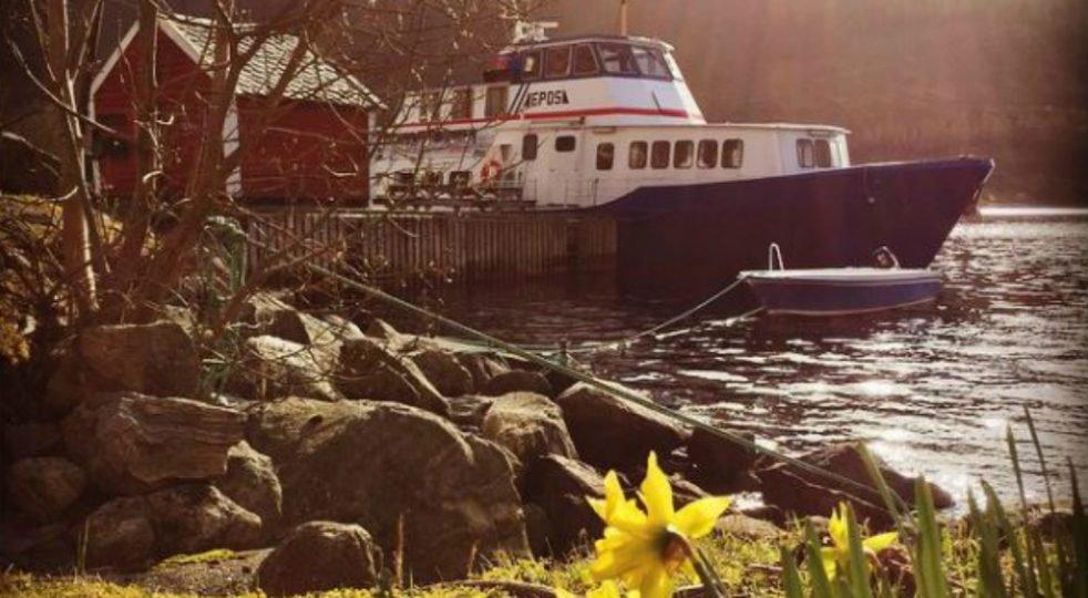 La #biblioteca galleggiante lungo le coste della #Norvegia: http://bit.ly/2u5AWfj   - Ukustom