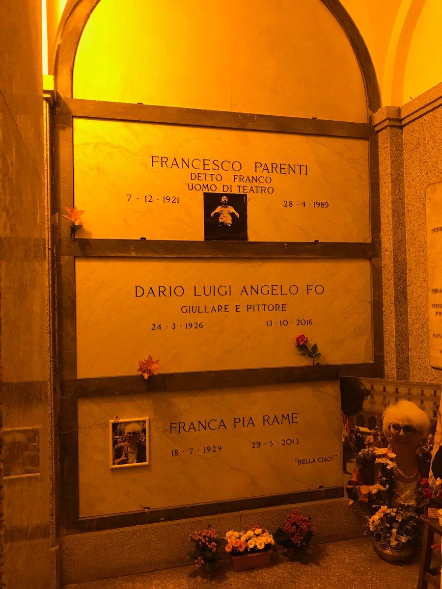 #CimiteroMonumentale #Milano i nostri #Teatranti son qui  - Ukustom