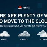 Image for the Tweet beginning: Going to the public #cloud?