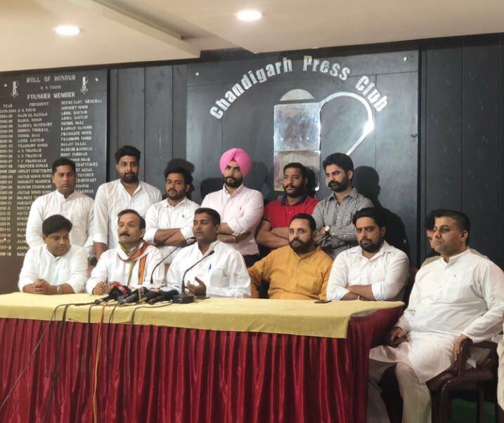 Press conference against Modi Govt. with IYC president @keshavyadaviyc @AmarpreetLally @hemantogale followed by discussion on IYC's social media enhancement @Allavaru @IYC @RahulGandhi @vidyarthee @AshaKumariINC @sunilkjakhar @ashokgehlot51 @INCIndia @INCPunjab @NsuiPU<br>http://pic.twitter.com/uEX7d5pPNV