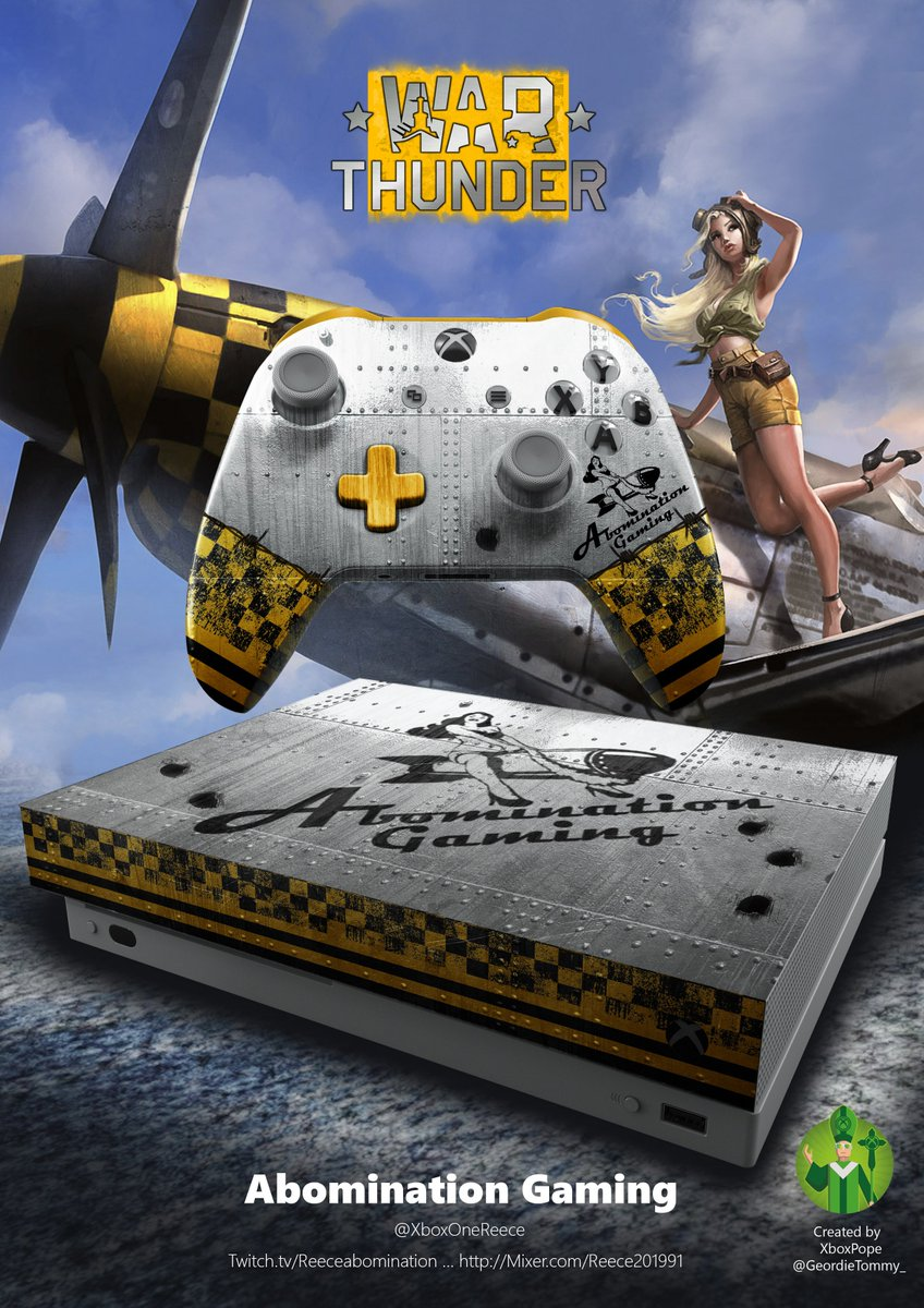 Its been a little while but found some time to add @XboxOneReece to the @Xbox Fan art fun hall of fame with his favourite game @WarThunder  enjoy buddy<br>http://pic.twitter.com/Dm2VFXBzB9