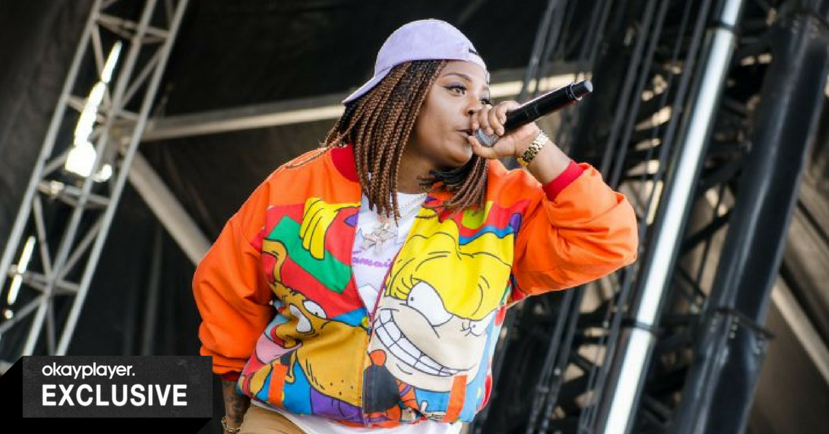 Bay Area badass @kamaiyah talks with @shirju about mental heath, future plans, and giving back to the community in a new interview. #BlackMusicMonth. bit.ly/2yyZXWD