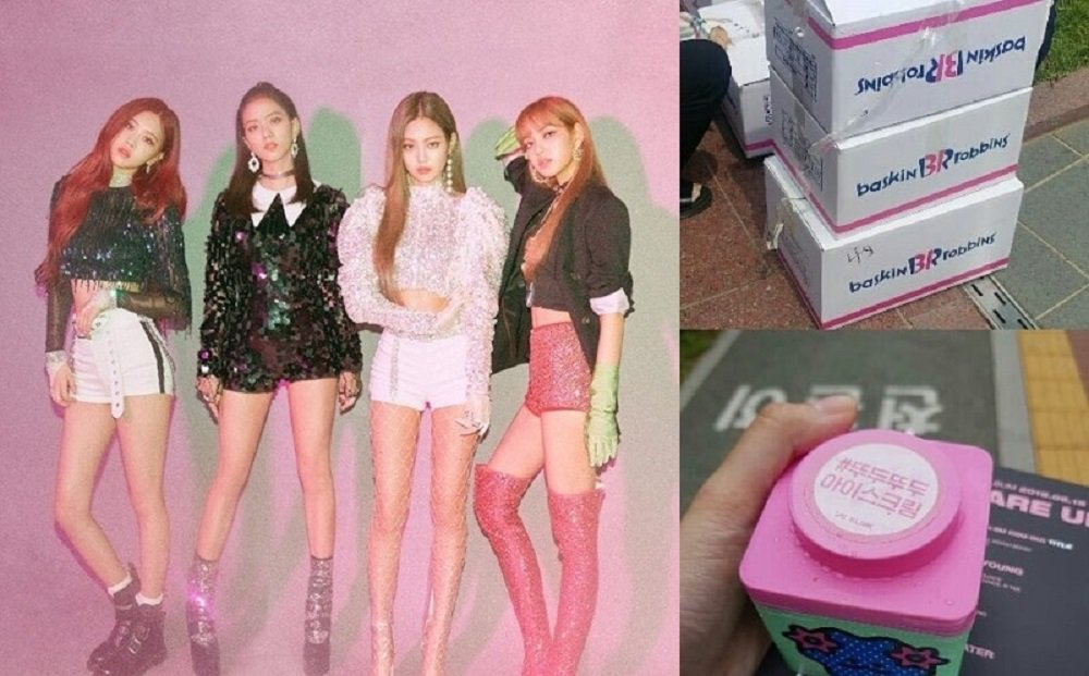 Black Pink gift fans ice cream and apologize for the incident at 'Lotte Duty Free Family Festival'  https://t.co/i5Wbt0snQZ