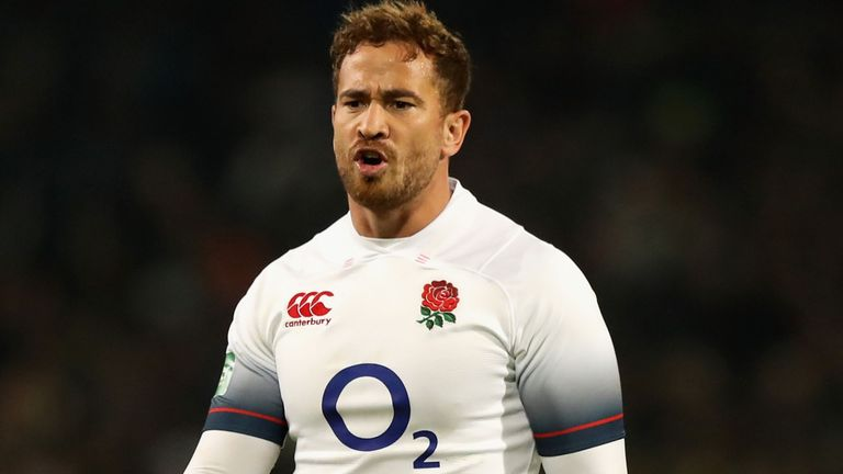 test Twitter Media - WATCH: Danny Cipriani praised England's resilience after they ended their six-game losing run with a 25-10 victory over South Africa: https://t.co/KEpGkZcZcH https://t.co/66LTlFfcuM