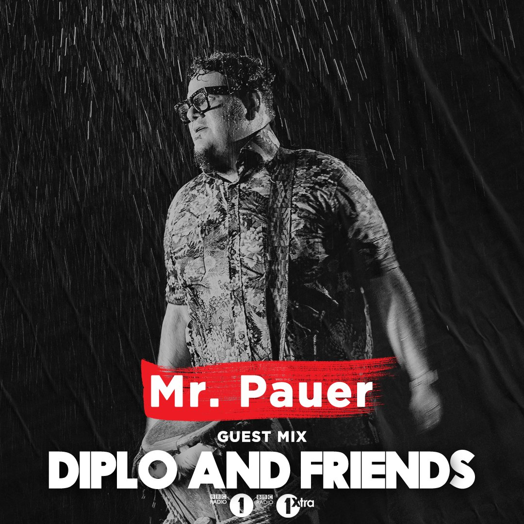 This week on @Diplo and Friends we welcome Miami based producer @MrPauer, and @YULTRON with plenty of heavyweight bass from Bassline House to Hardstyle: https://t.co/FCnw4lhZkD https://t.co/nEy79EXiyp
