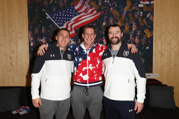 Happy #Olympic day. Throwback to @TeamUSA house in #PyeongChang2018 with @CarloValdes_USA and @christopherfogt<br>http://pic.twitter.com/y5decX7jGz