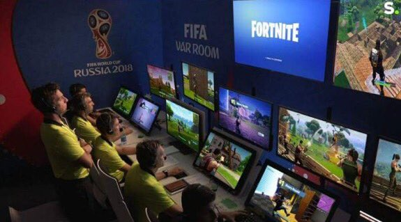 Live scenes in the VAR studio: