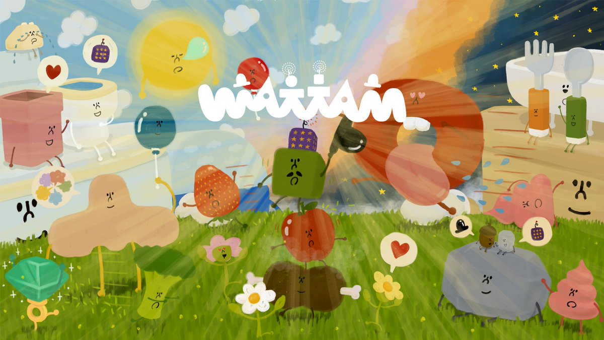Wattam, from the creator of Katamari, looks like a happy game about friendship — but it's actually way more political than that. https://t.co/vXunYyrSOK