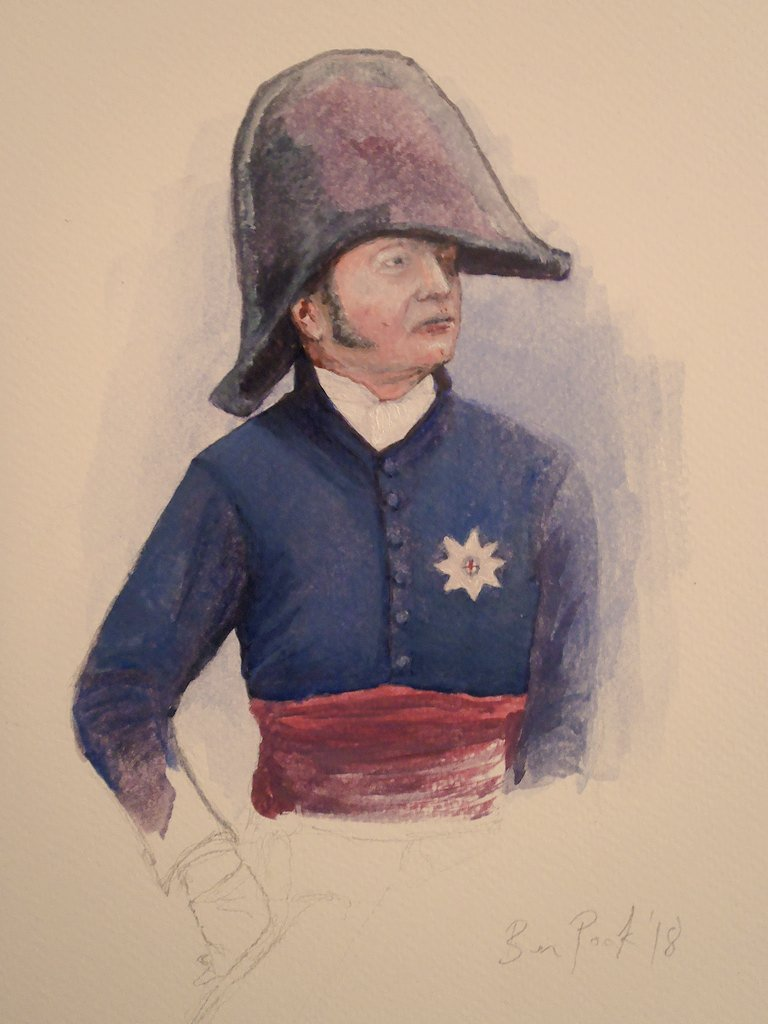 Doodling: Oils on paper by @BPookArt #napoleonic #traditionalart <br>http://pic.twitter.com/SbkHuG2TBZ