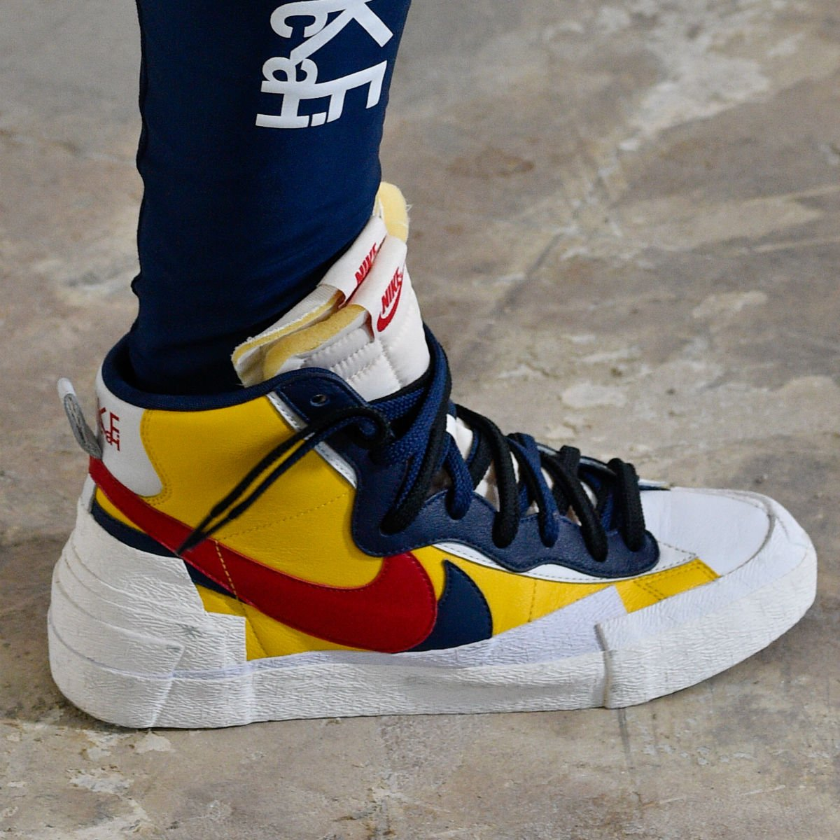 best website af364 9cbfe Sacai x Nike fusions previewed today in Paris.