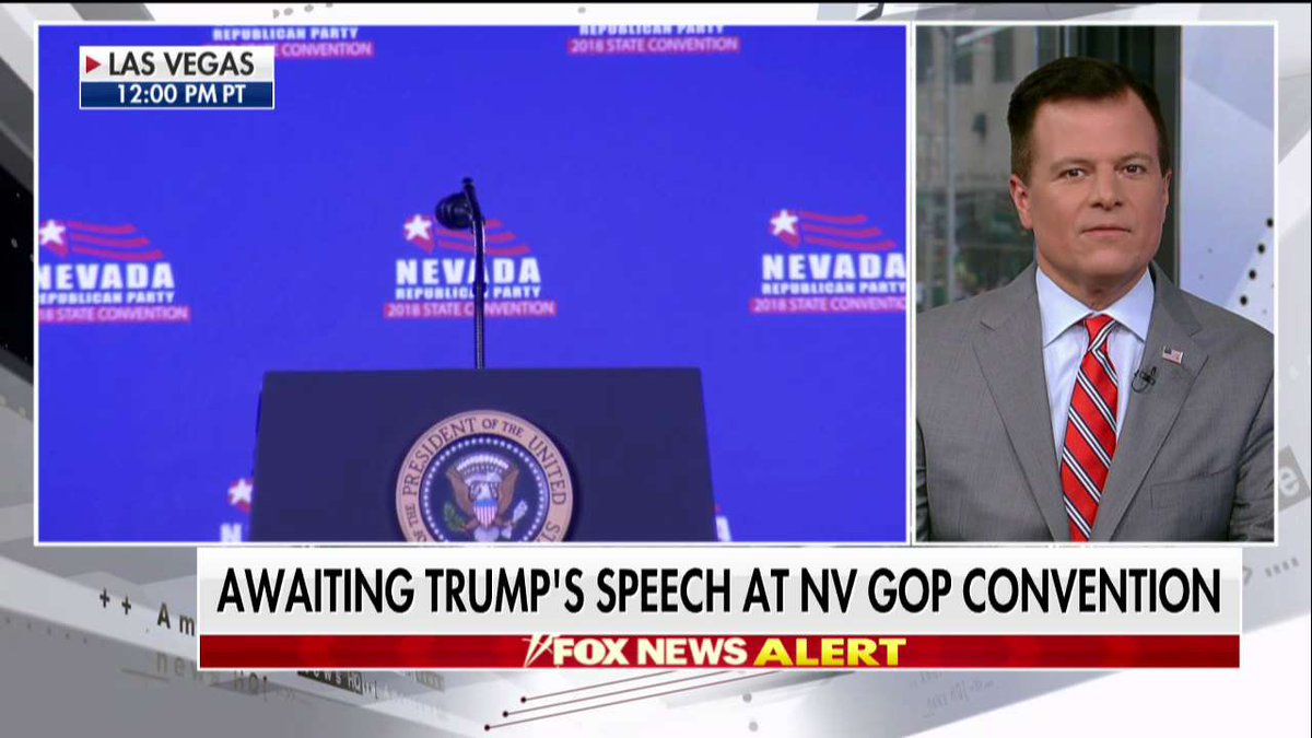 COMING UP: @POTUS's speech at NV GOP convention - for full live coverage, tune in to Fox News Channel!