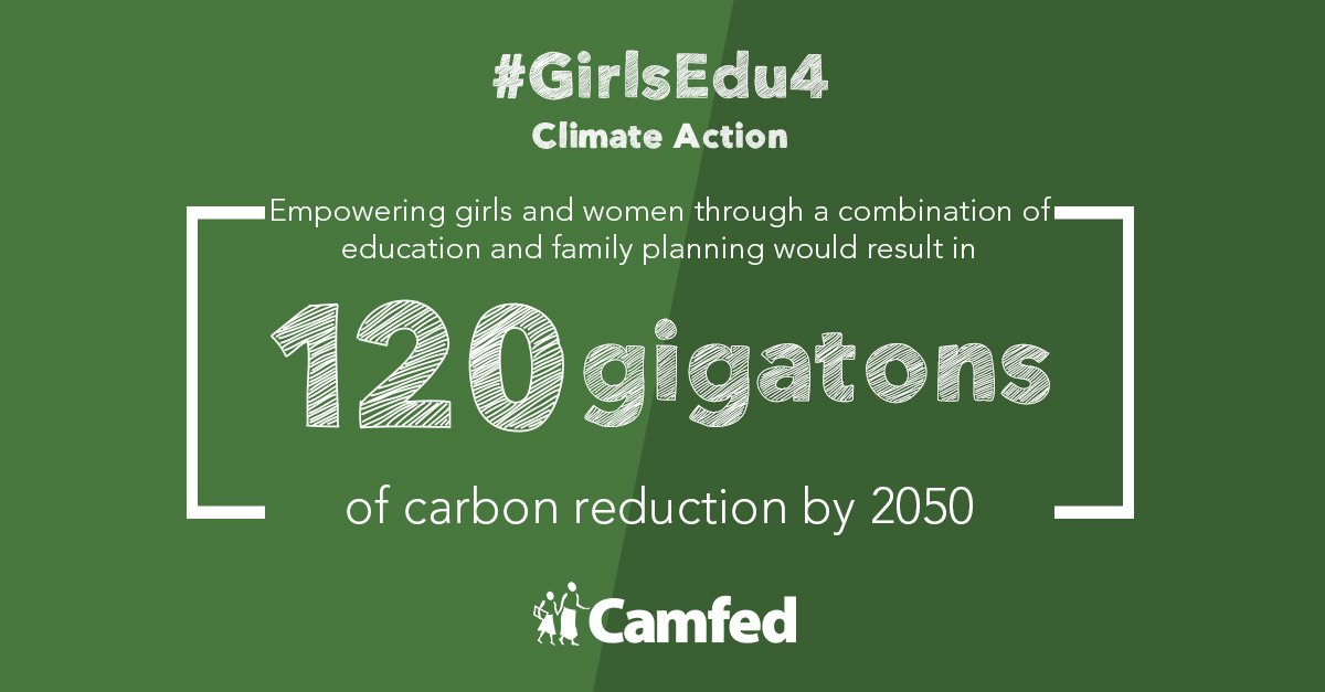 #GirlsEducation isn't only a matter of social justice, it's also a proven way to protect our planet & our future. Join our movement today!   Clhttps://t.co/OZJjKnnTWVi#GirlsEdu4mate Action #GlobalGoals