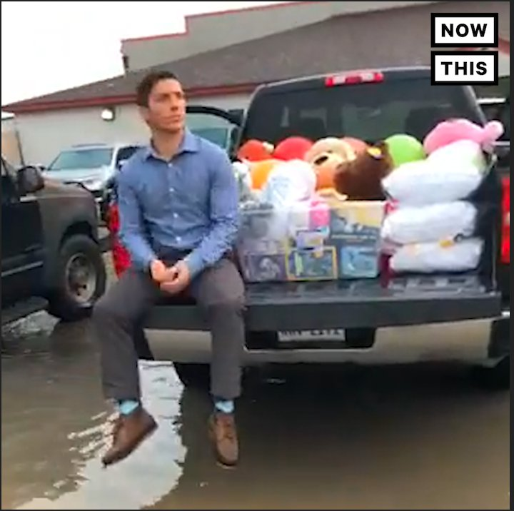 RT @nowthisnews This Senate candidate got arrested trying to deliver toys and supplies to detained children