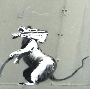 Посмотреть изображение в Твиттере В Париже появились новые граффити Бэнкси В Париже появились новые граффити Бэнкси DgZi8 tX4AUnbHU format jpg name 360x360