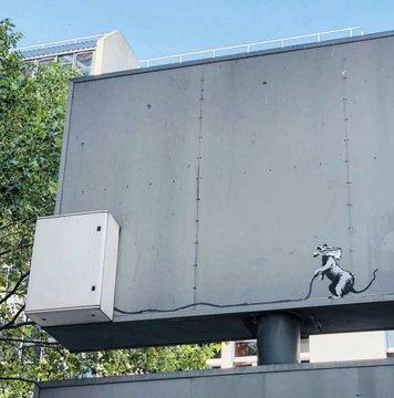 Посмотреть изображение в Твиттере В Париже появились новые граффити Бэнкси В Париже появились новые граффити Бэнкси DgZi9kKWsAMIXlw format jpg name 360x360