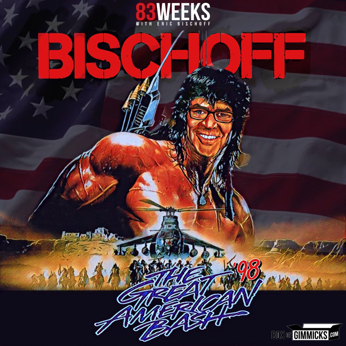 Join me tonight for a watch-a-long of Great American Bash 98. Go to @WWENetwork and locate the PPV from the vault, then join me at https://t.co/RE4CdLdahz at 8pm est tonight!