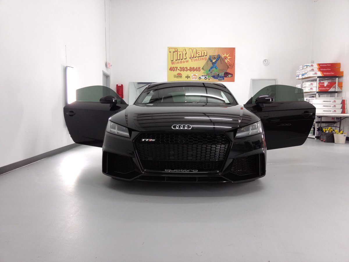 Tint Man On Twitter Audi Tt Rs Tinted By Tintman With Llumar