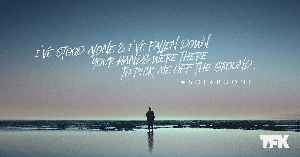 I wanna be so far gone in you, so far nothing else will ever do. #sofargone
