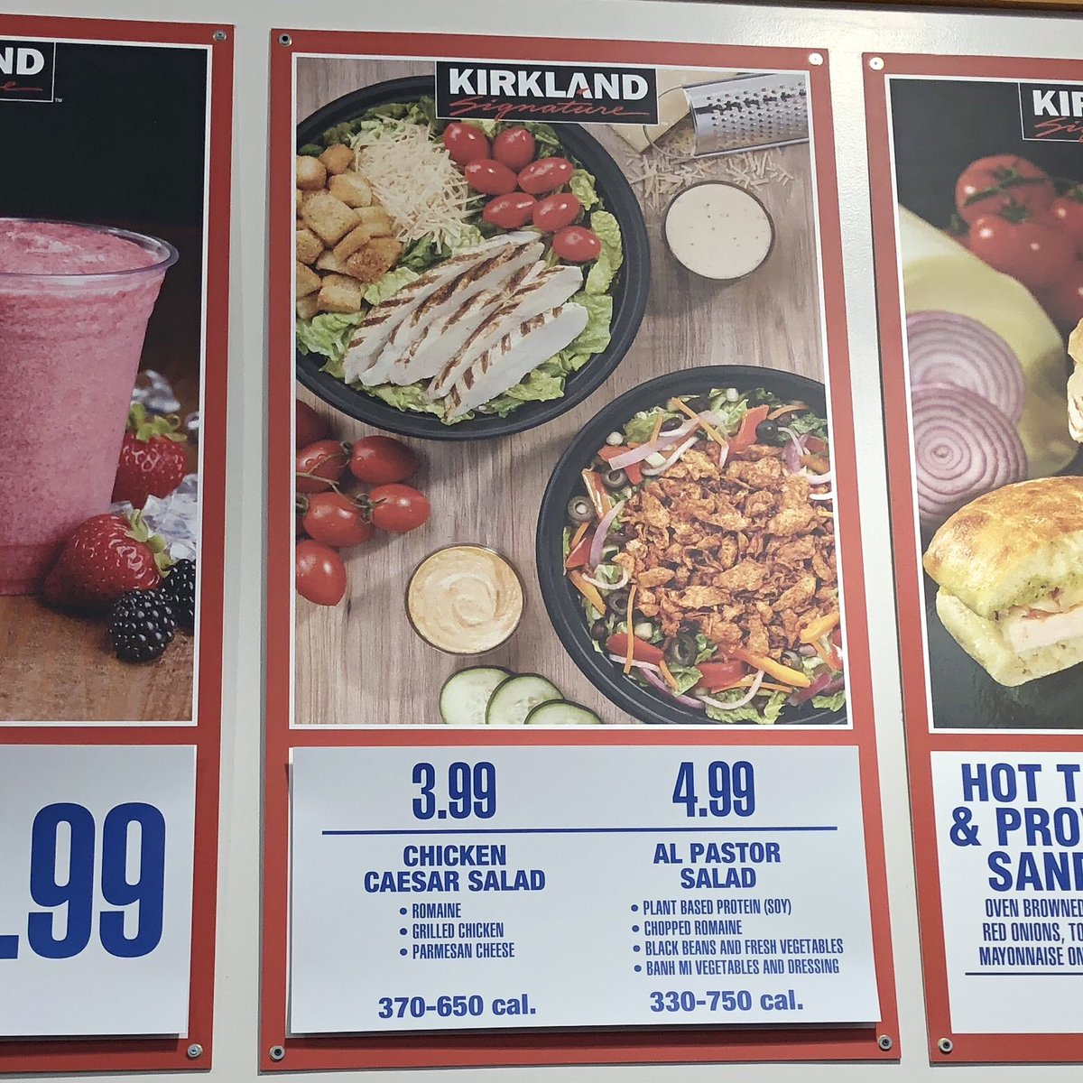 """thecostcoconnoisseur on twitter: """"another new food court item"""