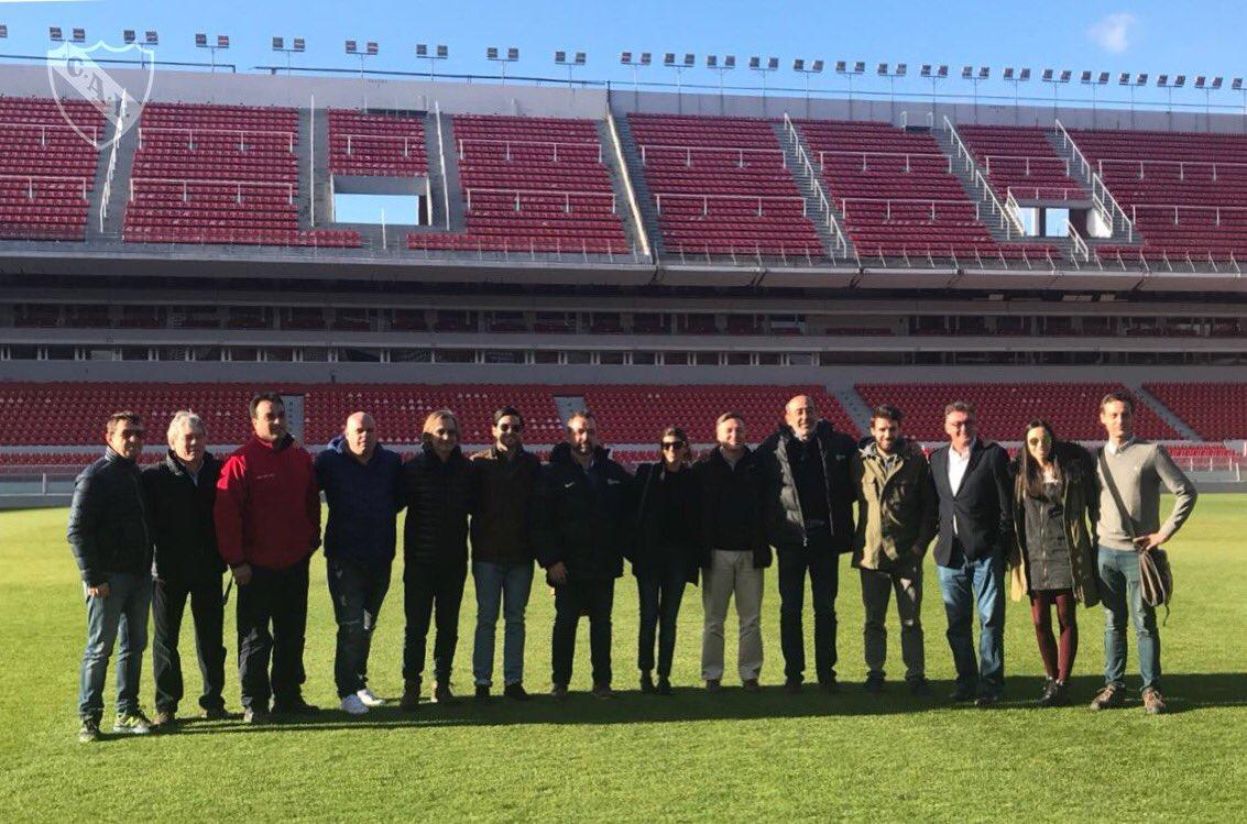 Visita al Libertadores de América