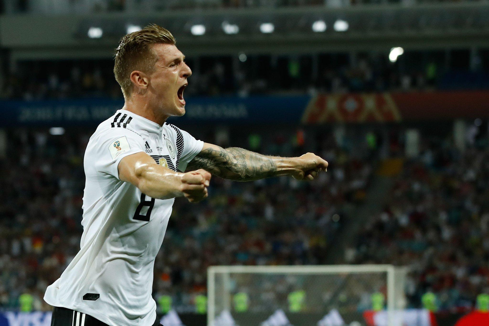 أهداف مباراة ألمانيا والسويد