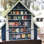 Image for the Tweet beginning: The Little Libraries curated by