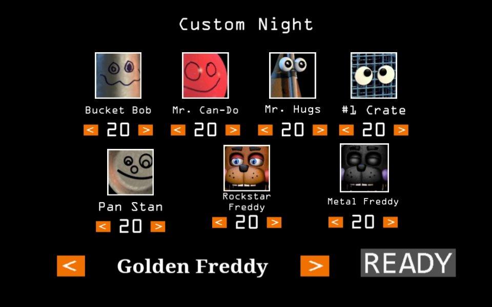 ultimate custom night rant (@gamegod28908145) | Twitter