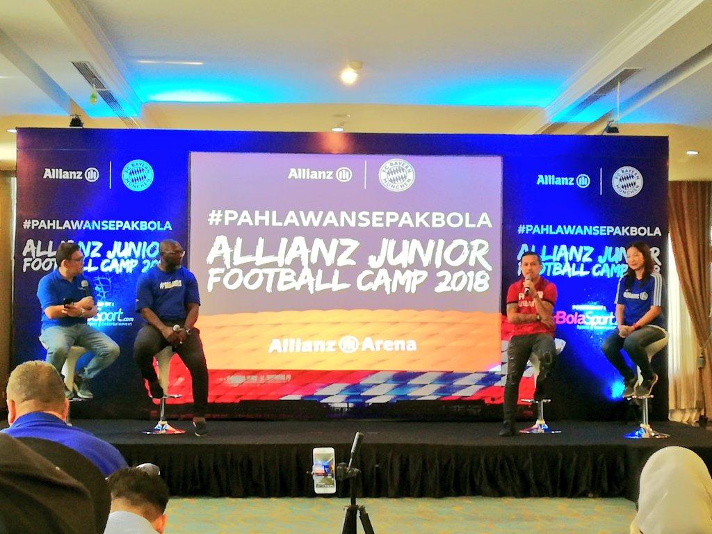 Allianz Junior Football Camp 2018